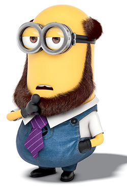 Tim Is A Minion Who Bald And The Dad In Despicable Me He Has Two Eyes Tall